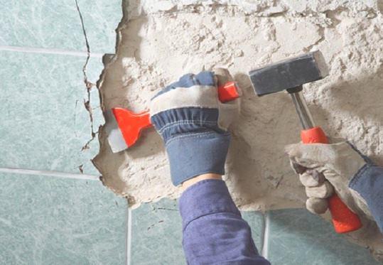 Демонтаж внутренней отделки в Екатеринбурге цена от 762 руб.